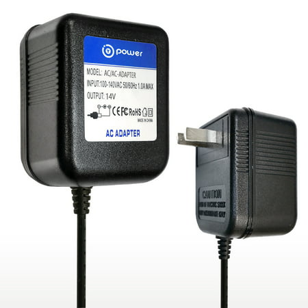 T-Power Ac Adapter For 14Vac Boss DR-770 DR-880 BRC-120 BRC120 AF-70 DR-770 DR-880 GR-20 GR-33 GT-3 GT-6 GT-8 GT-6B GX-700 Dr. Rhythm Drum Machine Roland Power Supply Cord