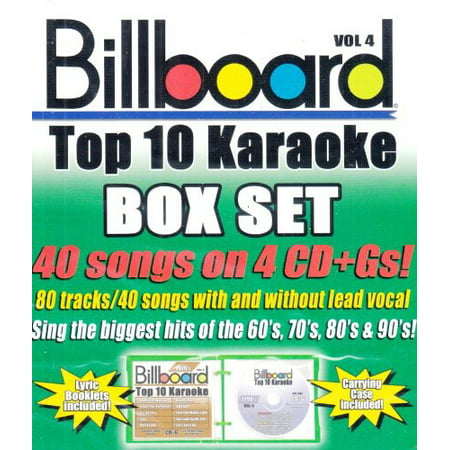- Billboard Top 10 Karaoke 4 (CD)