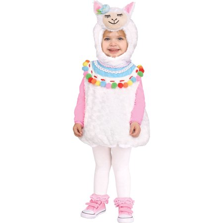 Lovely Llama Girls Toddler Cute Plush Animal Halloween Costume