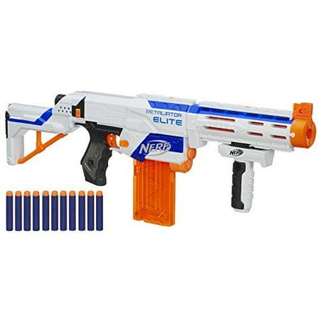 Nerf N-Strike Elite Retaliator Blaster (Colors May Vary) NEW - FREE