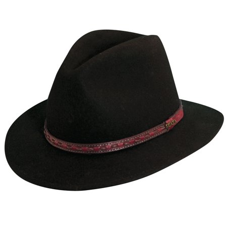 ccd0130393a UPC 016698309523 product image for Dorfman Pacific Men s Wool Felt Safari  Hat