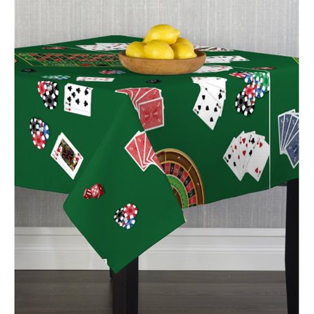 Winston Porter Caius Casino Night Table Cloth for $<!---->
