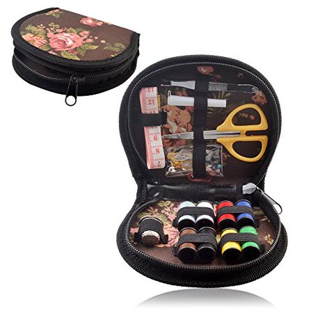- eZthings® Flower Design Sewing Supplies Kit For Arts and Crafts (Designer Sewing Set)