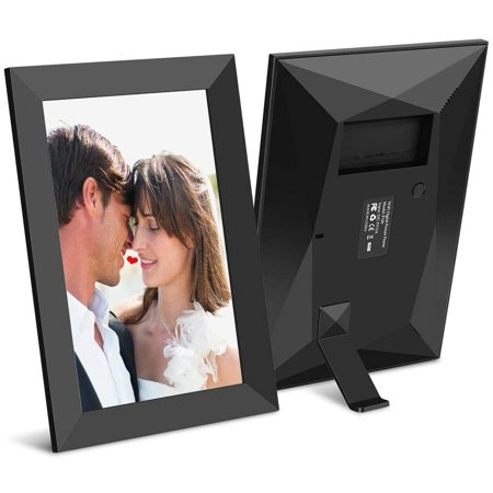 Ulltimaxx 10.1 Inch 16GB 40,000 Pics WiFi Digital Photo Frame with HD IPS Display Touch Screen - Share Moments Instantly via Frameo App from Anywhere ()