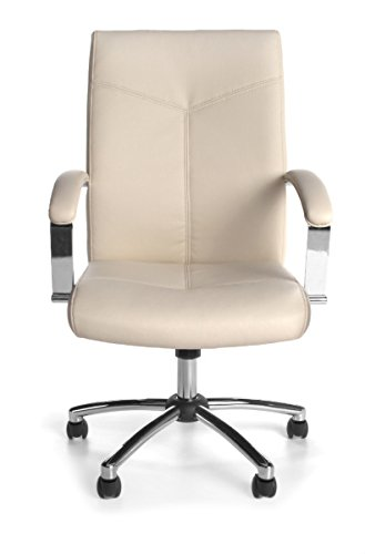 20 PACK EXECUTIVE/CONFERENCE CHAIR   CREAM OFME100320PKCRM Carton Qty:1
