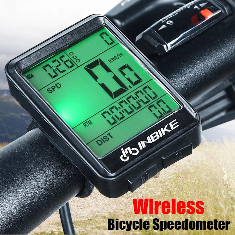 2.8 Inches Wired//Wireless Computer Bike Speedometer Odometer Waterproof Parts