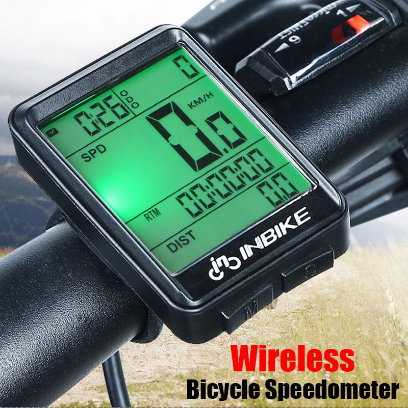 Waterproof Digital Wireless Cycling Bike Bicycles Computer Odometer Speedometer