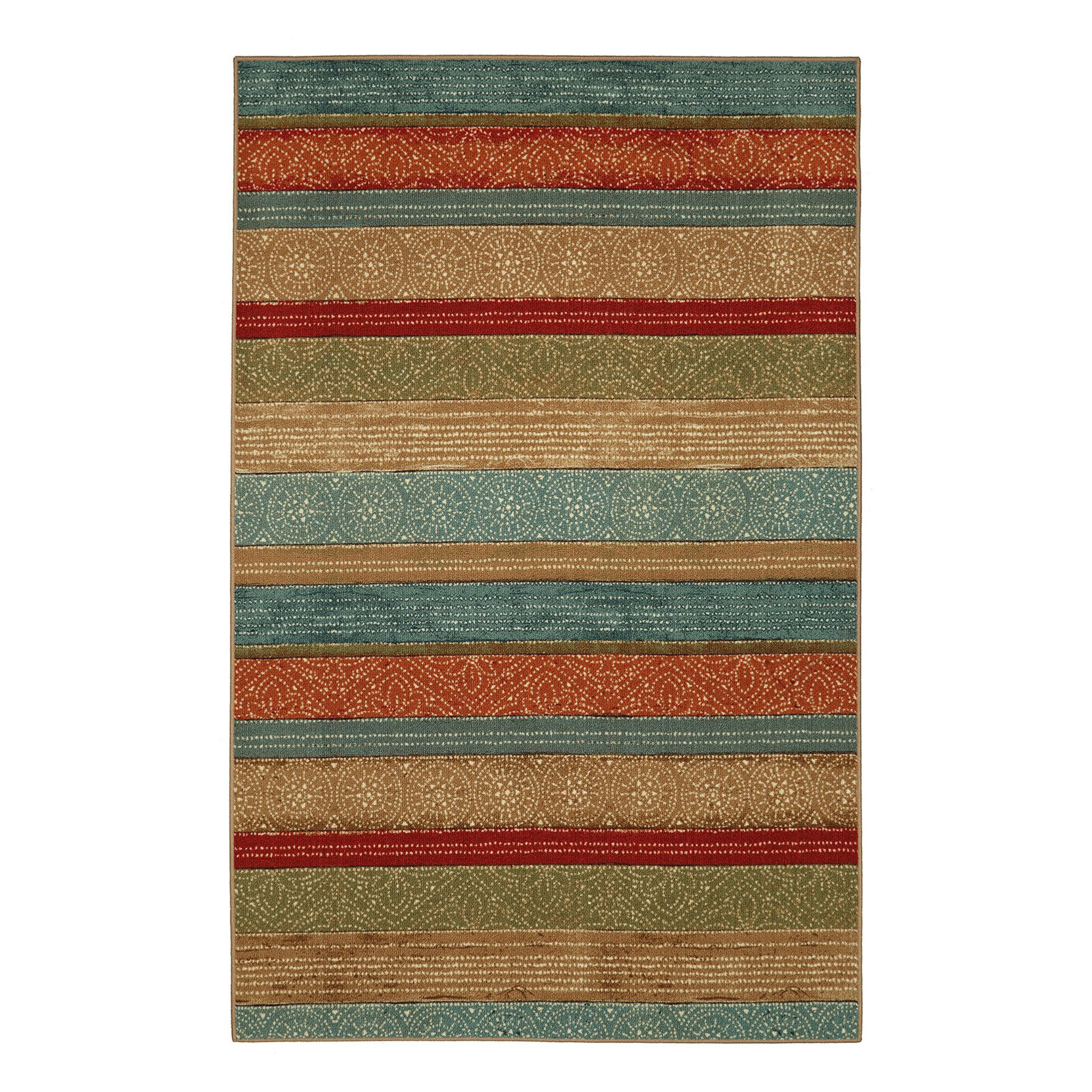 Mohawk Home Riza Tile Fret Area Rug