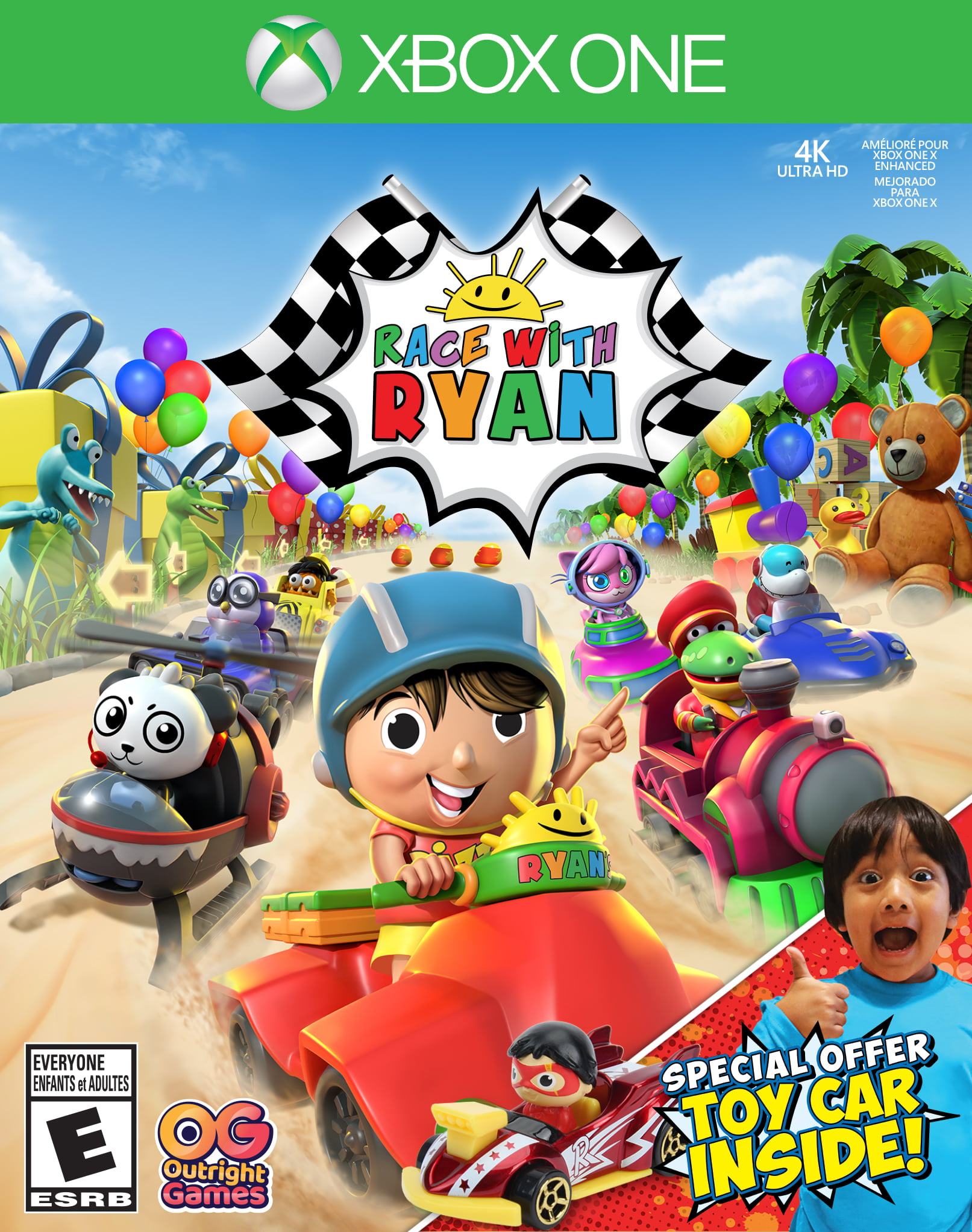 Walmart Exclusive: Race With Ryan, Outright Games, Xbox One