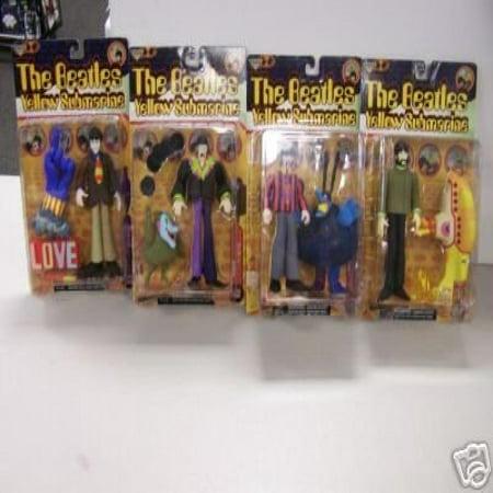 Mcfarlane Beatles Yellow Submarine Individually Carded Figure Set