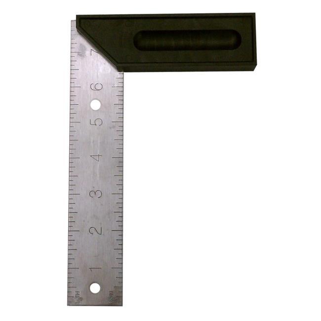Johnson Level 451 Metric Try & Mitre Square - 8 in. - image 1 de 1