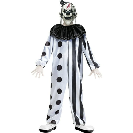 Fun World Killer Clown Boys' Halloween Costume - Very Scary Clown Costumes