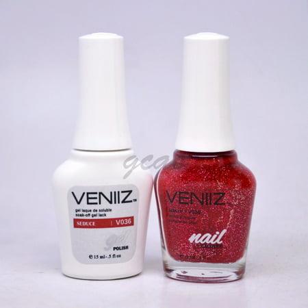 Veniiz Match UV Gel Polish V036 Seduce Glitter](Glitter Gel)