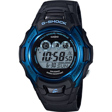 Casio G-Shock Mens Black Strap Watch