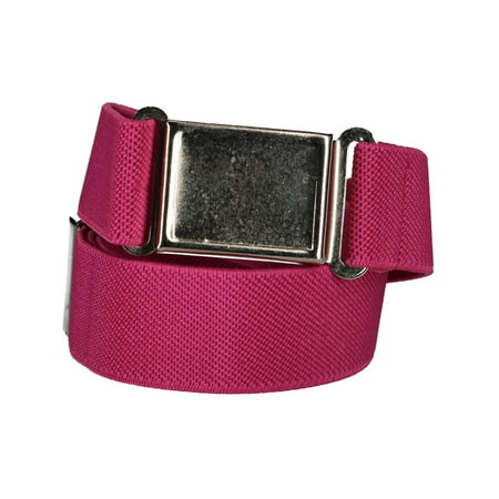 Kids' Elastic 1 Inch Adjustable Belt with Magnetic Buckle ()