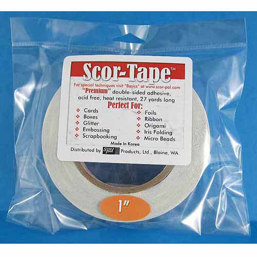 Scor-Pal SP202 Scor-Tape, 0.25 by 27-Yard