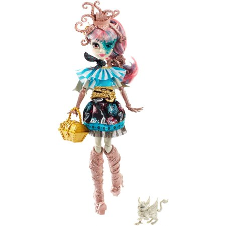 Monster High Shriekwrecked Nautical Ghouls Rochelle Goyle Doll - Monster High Clawdeen Wolf Ghouls Rule Halloween