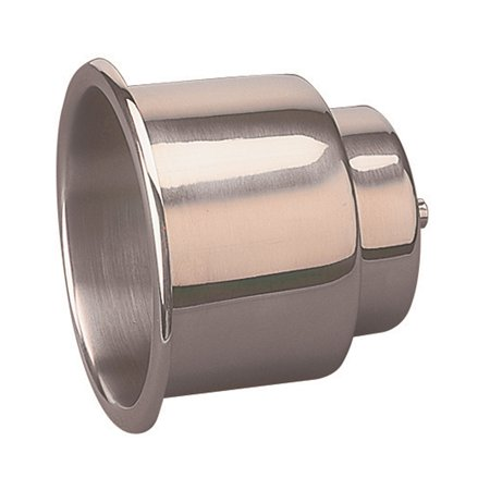Drain Tray Threaded Fitting - Sea-Dog 588065 Flush Mount Combo Drink Holder With Drain Fitting