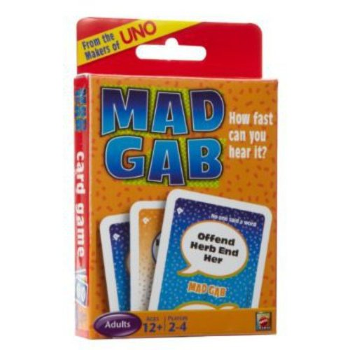 UNO Mad Gab Picto-Gabs Card Game