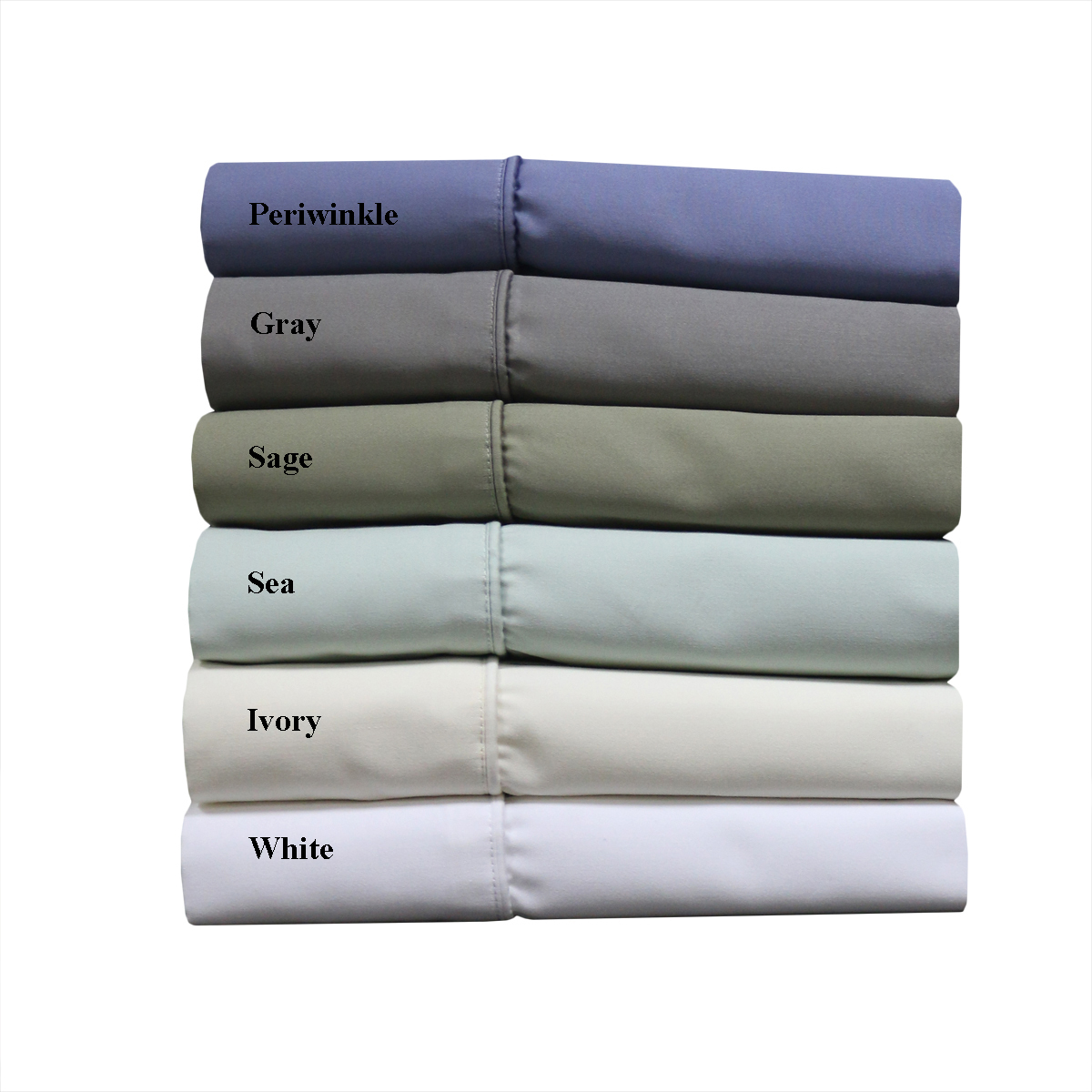 Wrinkle Free 1000 Thread Count Easy Care Cotton Blend Bed Sheets - King Size - Ivory