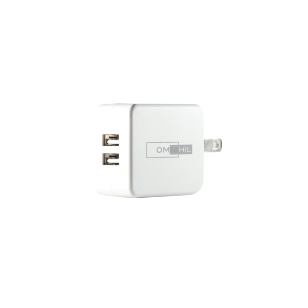 OMNIHIL 2-Port USB Charger for Matone Portable 8000mAh with USB Solar Battery Charger Power Bank by OMNIHIL