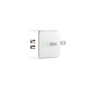 OMNIHIL 2-Port USB Charger for EBL iQuick USB 9V Battery Charger for 9V Lithium-ion Rechargeable Batteries