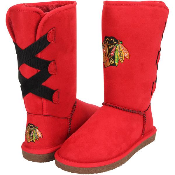 Chicago Blackhawks Cuce Women's Conqueror Boots
