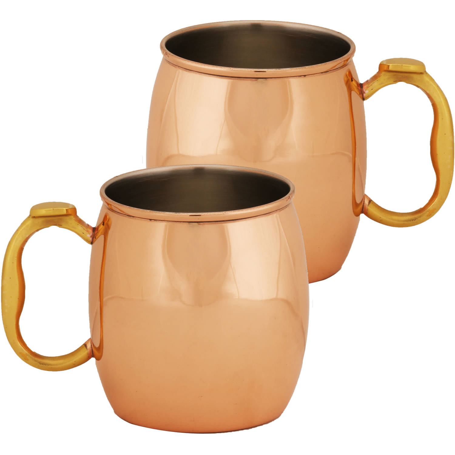 10 Strawberry Street 20 oz Copper Mug, Set of 2