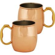 10 Strawberry Street 20 Oz Copper Mug Se