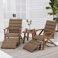 Better Homes & Gardens Fayette 5-Piece Patio Wicker Chat Set