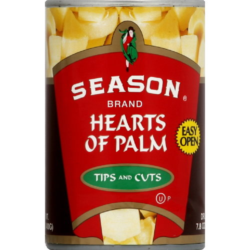 Season Hearts Of Palm Tips And Cuts, 14.1 oz (Pack of 12)