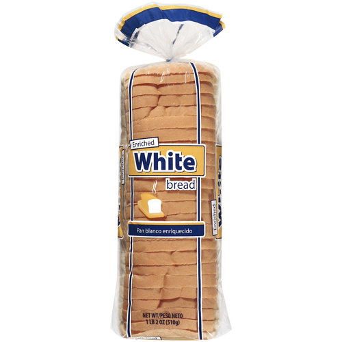 Great Value White Enriched Bread, 18 oz