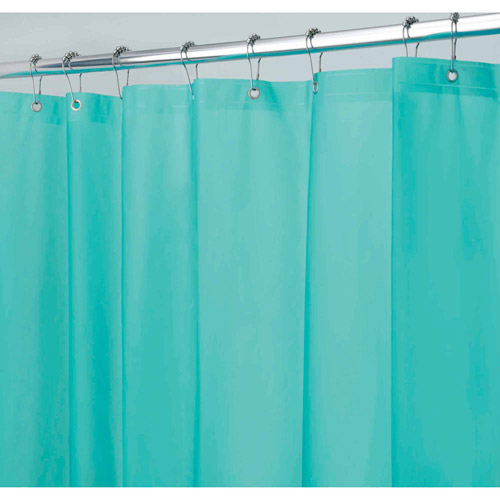 InterDesign Mildew-Free EVA 5.5 Gauge Shower Curtain Liner, Various Sizes