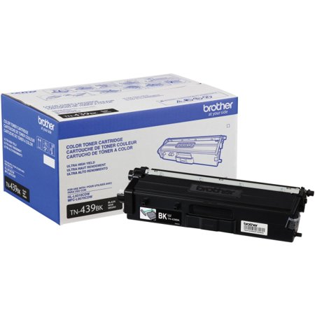 Brother TN439BK Original Toner Cartridge - Black - Laser - Ultra High Yield - 9000 Pages