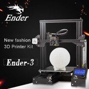 Creality 3D Ender-3 High- DIY 3D Printer Self-Assemble 220 * 220 * 250mm Printing Size with Resume Printing Function Black