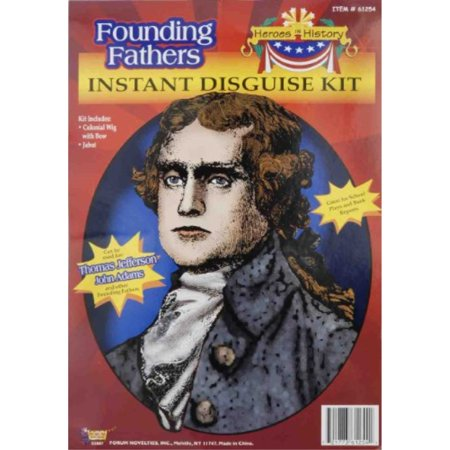 Forum Thomas Jefferson Instant Disguise Kit (Port Jefferson Halloween)