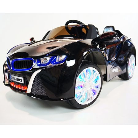 Newest Led Edition Bmw I8 Style 12v Mp3 Kids Ride On Car With