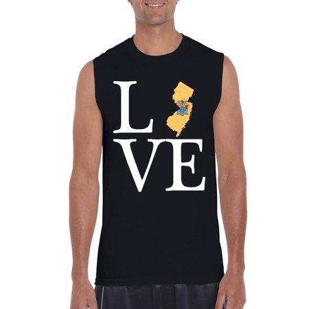 Love New Jersey Men Ultra Cotton Sleeveless T-Shirt