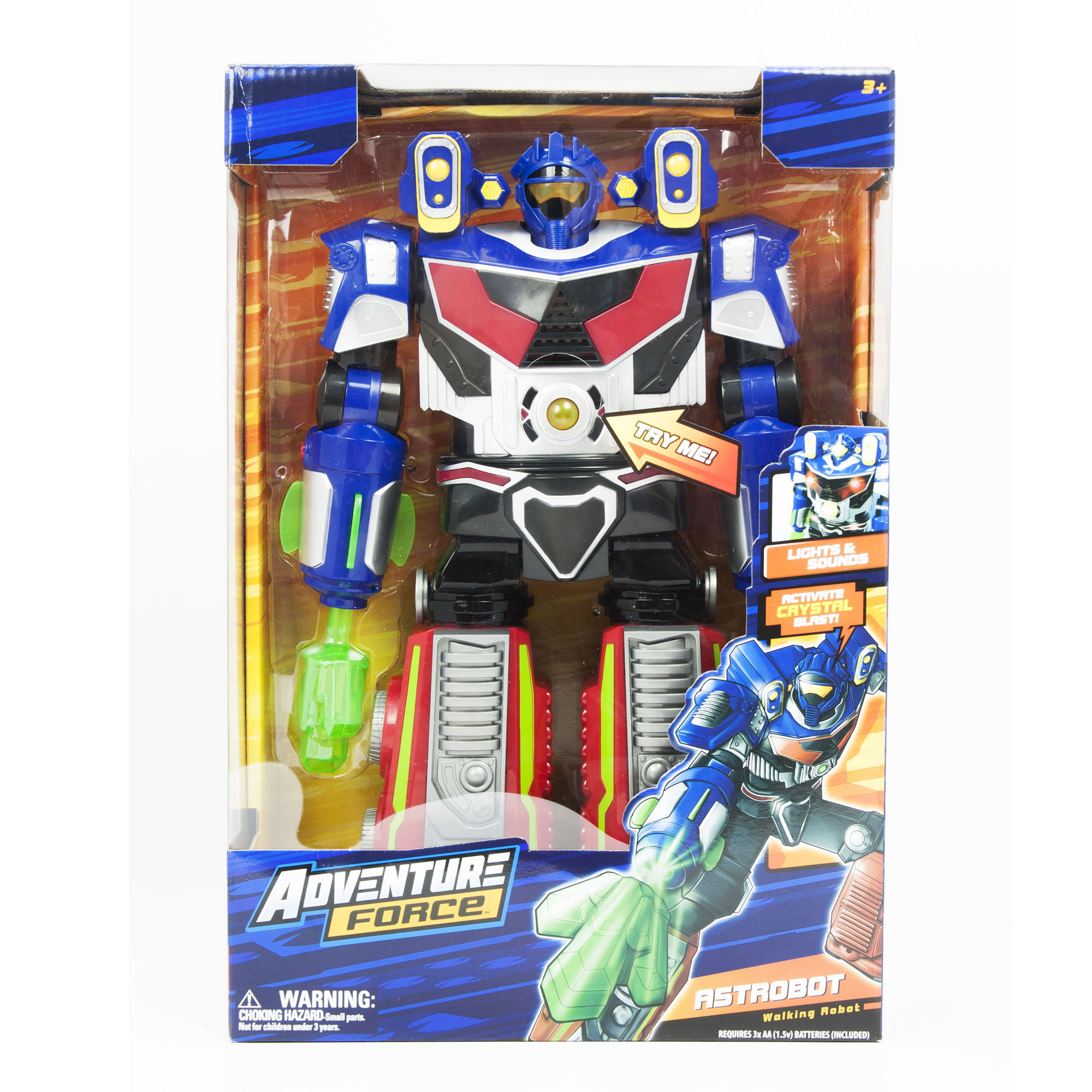 Adventure Force Astrobot Walking Robot Toy with Lights & Sound by Generic