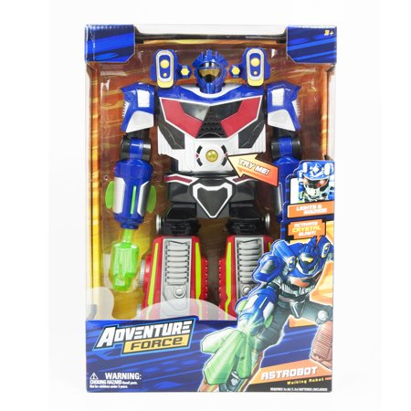 Adventure Force Astrobot Walking Robot Toy with Lights & Sound