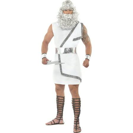 Adult Zeus Costume Smiffys 26017](Halloween Costumes Smiffys)