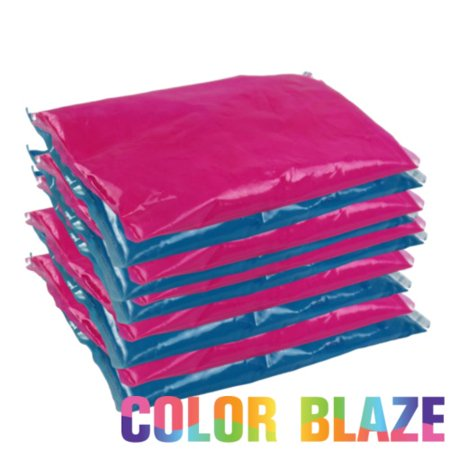 gender reveal color powder packet combo 5 pink5 blue color powder packets - Color Packets