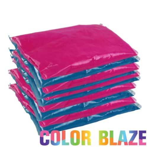 Gender Reveal Color Powder Packet Combo - 5 Pink/5 Blue Color Powder Packets