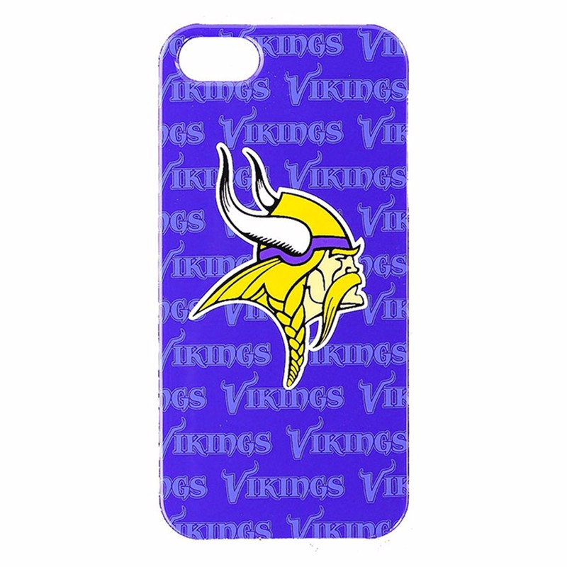 NFL Mobile Accessories Snap on Case for iPhone 5/5s/SE - Minnesota Vikings