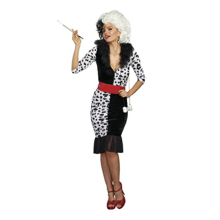 Women's Dalmatian Diva Costume (Dalmation Puppy Costume)