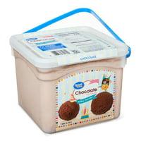 Great Value Chocolate Ice Cream, 1 Gallon Pail