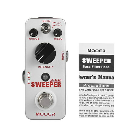 MOOER SWEEPER Pédale d'effet pour guitare basse True Bypass Full Metal Shell - image 5 of 6