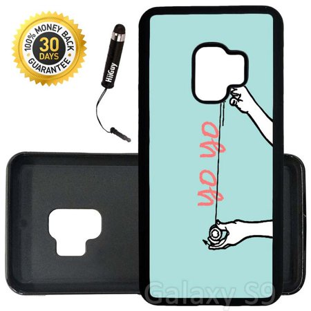 Custom Galaxy S9 Case (Yo Yo Trick) Edge-to-Edge Rubber Black Cover Ultra Slim | Lightweight | Includes Stylus Pen by - Custom Yoyo