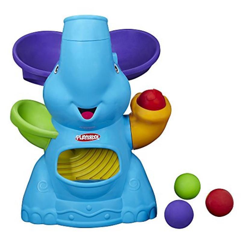 Playskool Poppin Park Elefun Busy Ball Popper Toy by