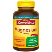 Nature Made Magnesium 250 mg Tablets, 300 Count